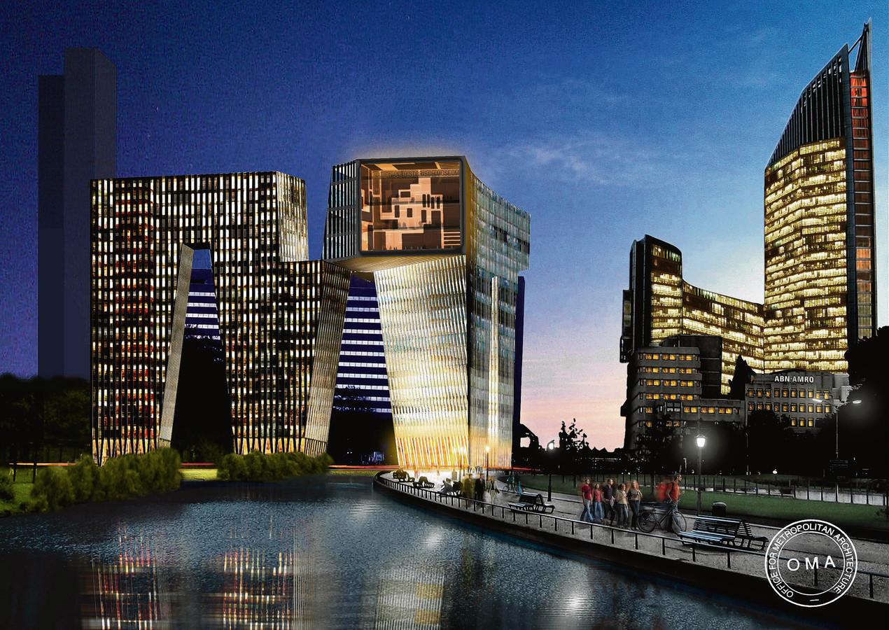 De M van Koolhaas overleefde de kredietcrisis niet. In 2010 trok wethouder Marnix Norder na acht jaar de stekker uit het project.