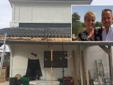 Gine en David kochten 'paleis' van karton dat na regenbui uit elkaar viel, zo gaat het nu met Ik Vertrek-stel uit Roosendaal
