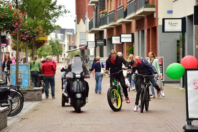 Gouweplein in Waddinxveen.