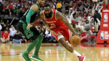 Houston boekt vijftiende zege op rij in de NBA, Harden alweer de grote man