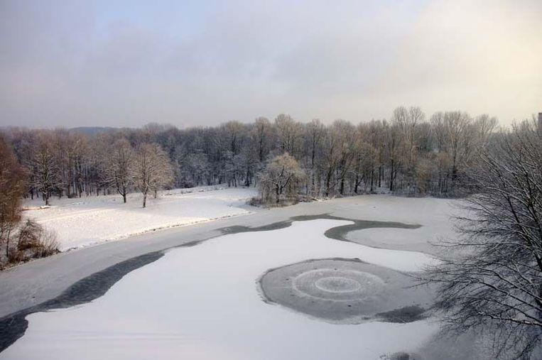 Het Sloterpark in Osdorp. Foto Hennie van der Baan Beeld