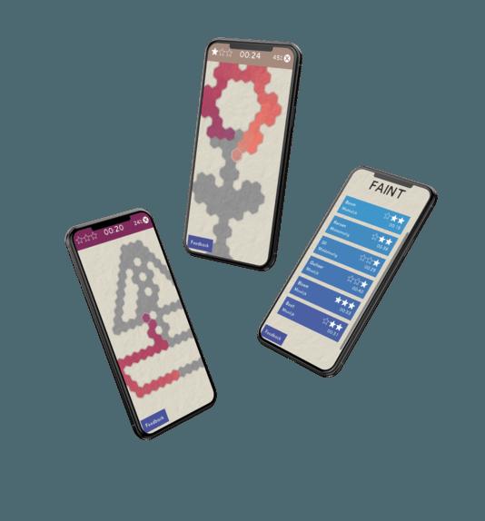 De Aina-app helpt je af van je angst voor naalden.