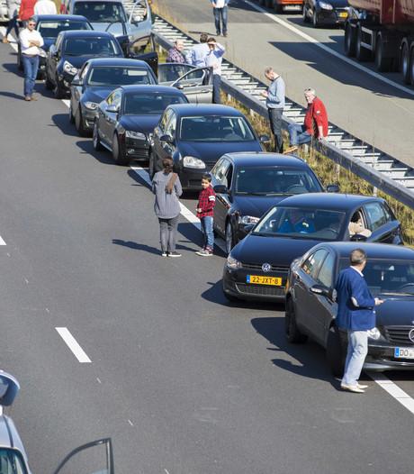 Schipholtunnel richting Den Haag later op de dag open