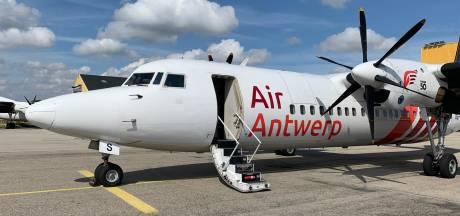"""Le premier vol de """"la plus petite compagnie aérienne belge"""" a décollé"""