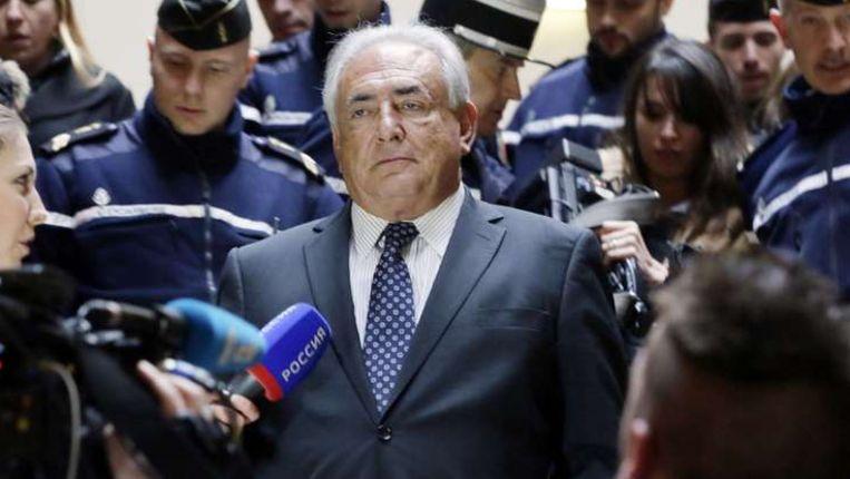 Ex-topman Dominique Strauss-Kahn van het IMF is er niet in geslaagd een rechterlijk verbod af te dwingen op de publicatie van een boek over hem Beeld anp