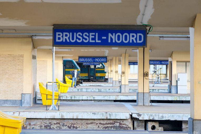 Station Brussel-Noord. Beeld Marc Baert