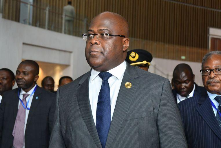 Félix Tshisekedi. Beeld EPA