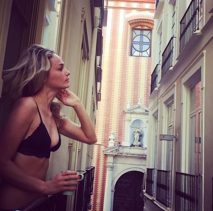 Irene Schouten in Málaga.