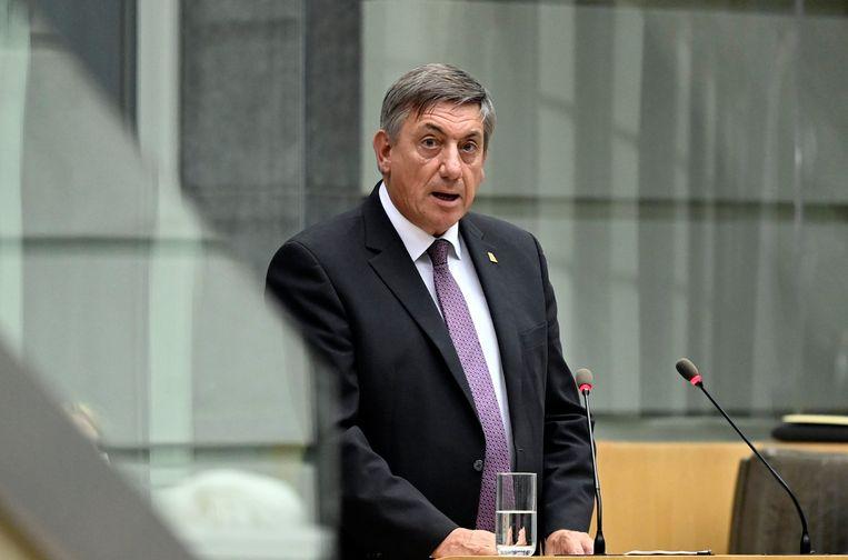 Vlaams minister-president Jan Jambon (N-VA). Beeld Photo News