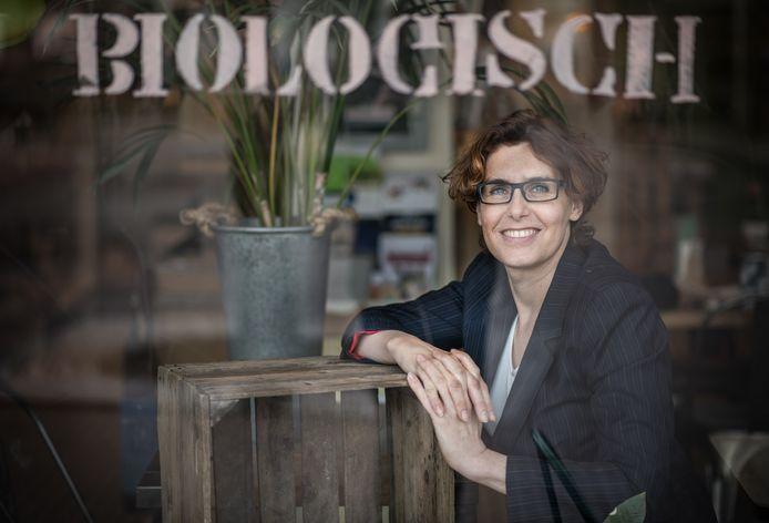 Michelle van Doorn, gemeenteraadslid Partij voor de Dieren in Nijmegen en initiator achter het vuurwerkverbod in haar stad.