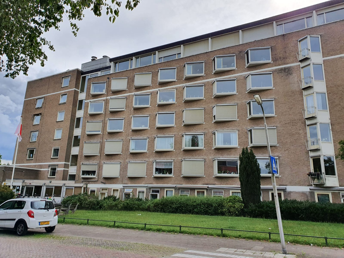 Verzorgingshuis Amerhorst aan de Bosweg/Zandbergenlaan in Amersfoort wordt gesloopt en maakt plaats voor senioren-nieuwbouw.