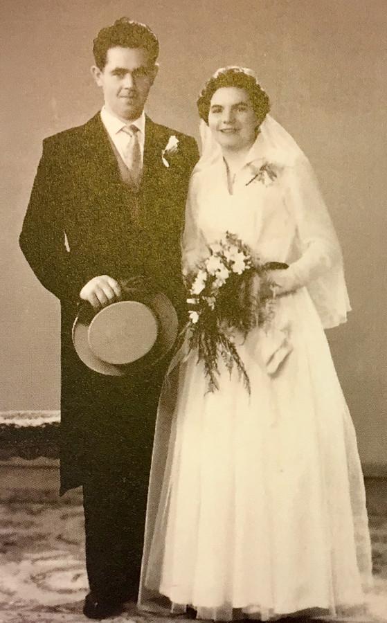 Het echtpaar in 1959.