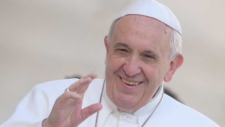 Paus Franciscus. Beeld PHOTO_NEWS