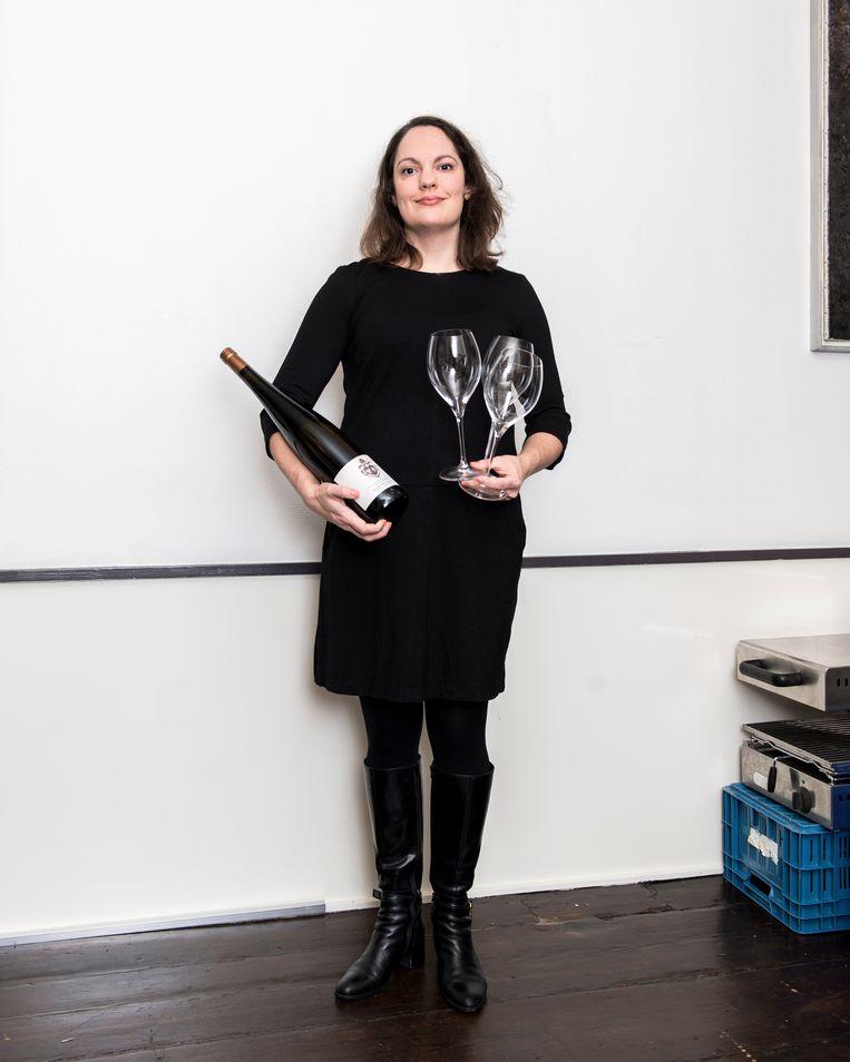Elise Moeskops, mede-eigenaar van restaurants Beeld Eva Faché
