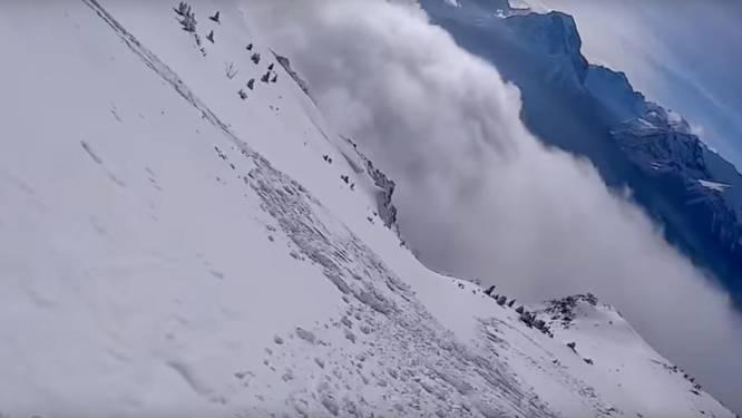 Skiër lokt opzettelijk lawine uit, maar dat loopt niet af zoals verwacht