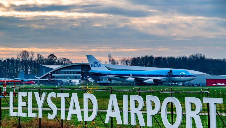 Lelystad Airport. Beeld ANP