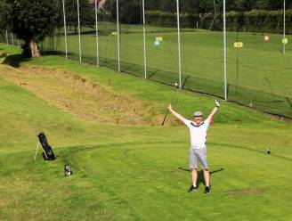 """Speedgolf in De Kluizen: """"Een biatlon, met een golfstick"""""""