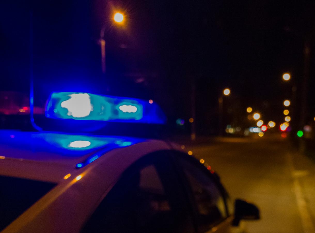 stockadr politie politiewagen zwaailicht calamiteit 112
