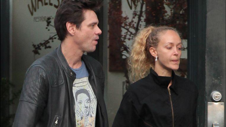 Carrey met zijn Anastasia. Beeld PHOTO_NEWS