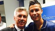 Ronaldo wil door met Ancelotti, trainer denkt zelf aan jaar rust