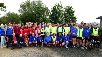 Joggingclub op bedevaart naar Halle