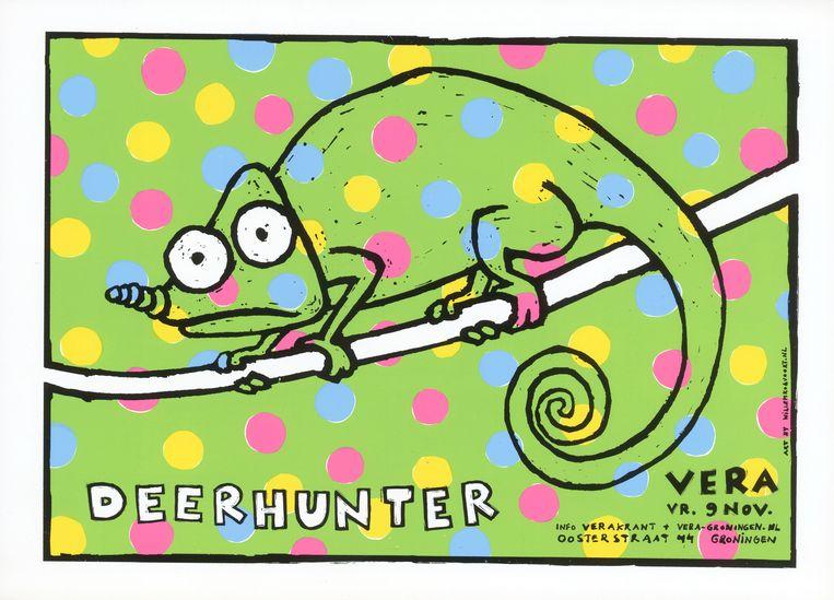Deerhunter Beeld Willem Kolvoort