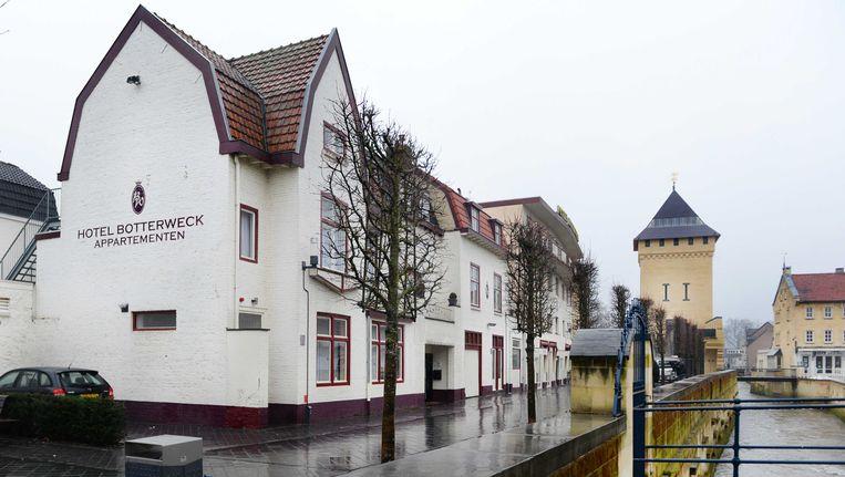 Het hotel waar een 16-jarig meisje mogelijk seks heeft gehad met 80 mannen. Beeld ANP