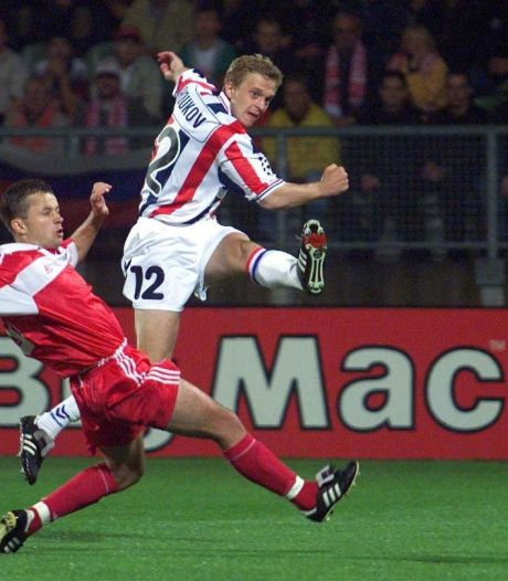 Dimtri Sjoekov maakt bijna snelste goal ooit in Champions League