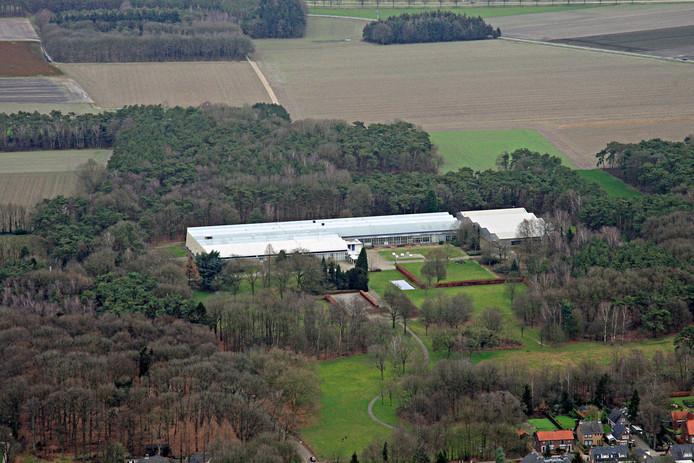 Het Ruyspark rond De Ploeg in Bergeijk.