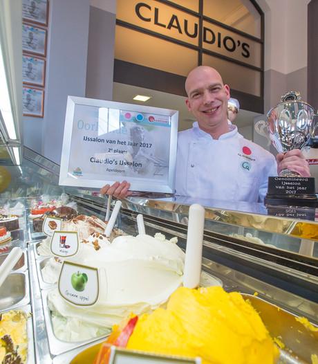 Claudio's in Apeldoorn op een na beste ijssalon van Nederland