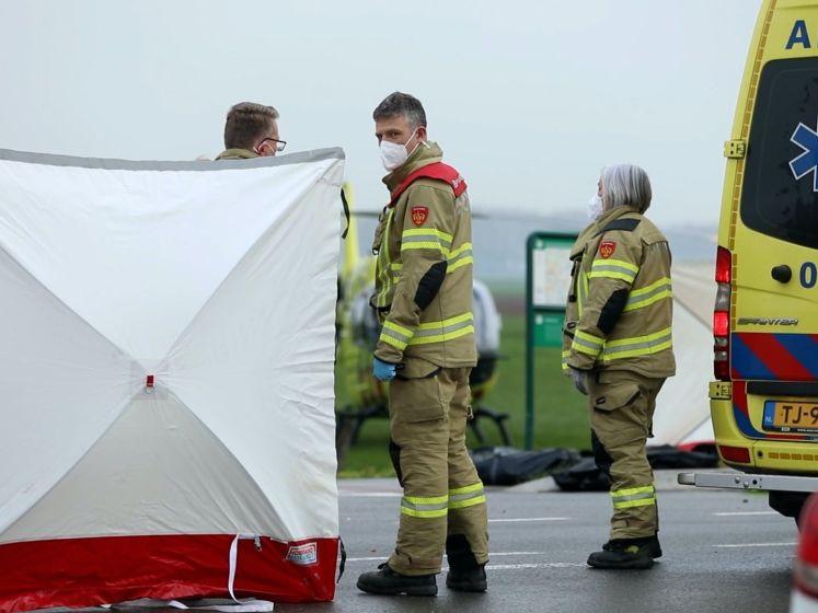 Motorrijder omgekomen bij aanrijding met bestelauto in Angerlo