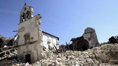 1 op 3 huizen onbewoonbaar na aarbeving in L'Aquila