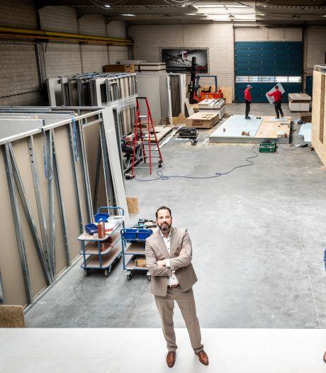 Dit nieuwbouwhuis wordt voor 180.000 euro opgeleverd, je moet het alleen zelf afmaken