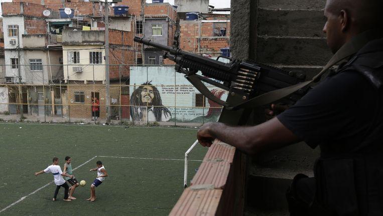 Rio scoorde bij de verkiezing 5 op 10 voor accommodatie en infrastructuur. Voor veiligheid kreeg de stad een 4,5. Beeld © reuters