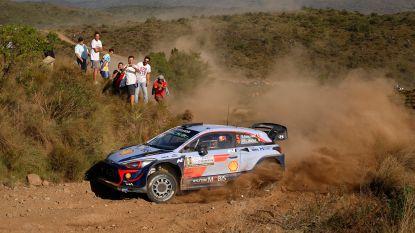 Tänak heerst in Rally van Argentinië, Thierry Neuville staat tweede