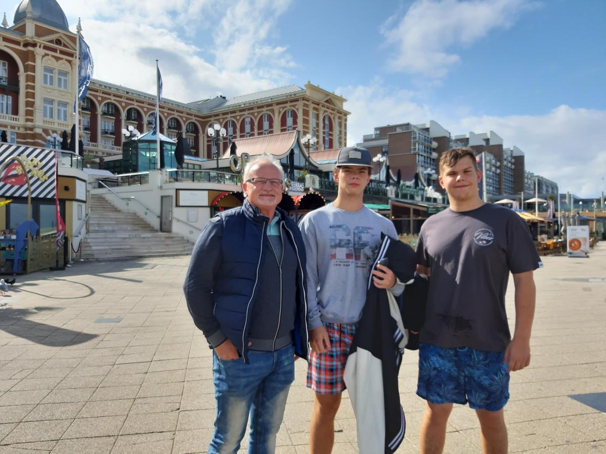 Helmut en zijn zoons: 'Als ze allebei het EK maar halen, dat zou leuk zijn.'