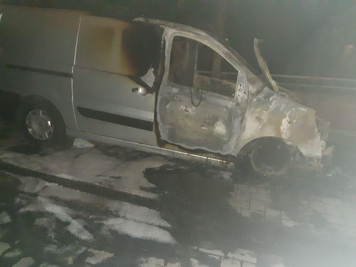 Rellen in de Marollen. Dertig jongeren steken bestelwagen in brand en gooien molotovcocktails naar de brandweer.
