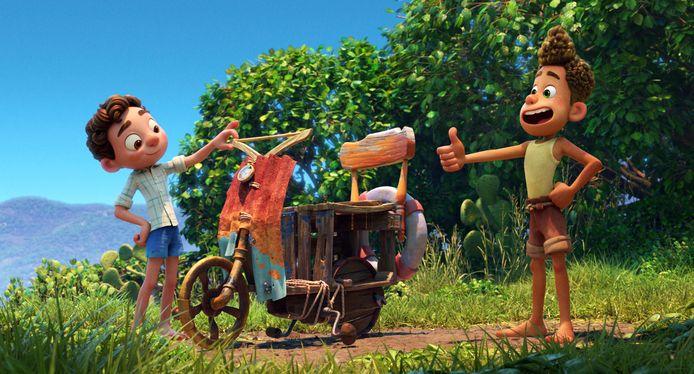 "Image tirée du film ""Luca"" de Pixar."
