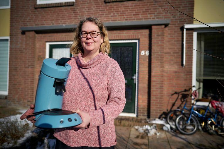 Nicolet ruilde een Senseo-koffiezetapparaat voor een kilo drop. Beeld Phil Nijhuis