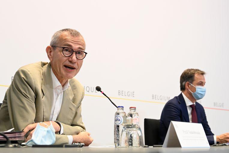 Federaal minister van Volksgezondheid Frank Vandenbroucke (Vooruit). Beeld EPA