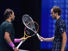 Nadal déclaré cas contact? Medvedev s'entraînait avec lui quelques heures avant d'être testé positif