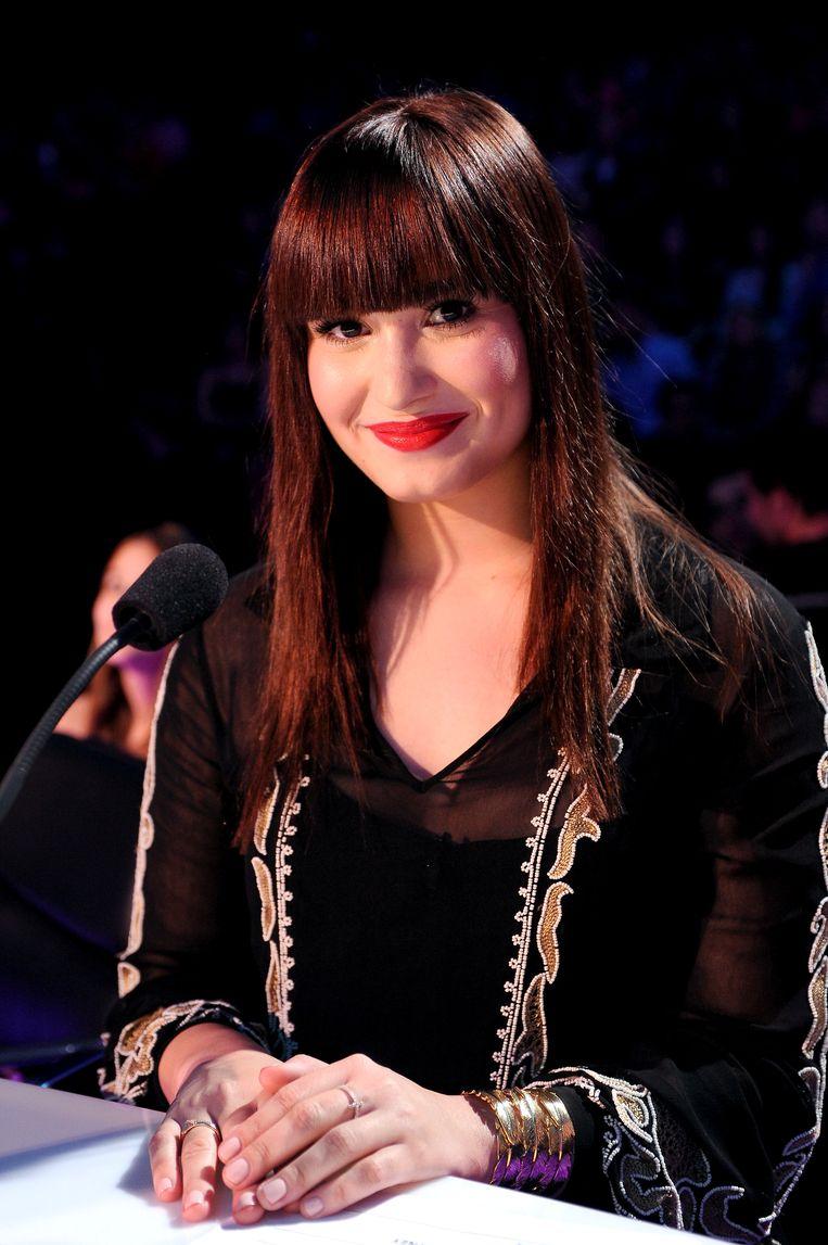 Als jurylid van 'The X Factor', in 2012. 'In een strak pakje over een podium huppelen, daar haalde ik geen greintje voldoening uit.'  Beeld FOX via Getty Images
