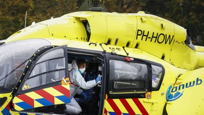 Zwaargewonde fietser naar ziekenhuis gebracht met traumahelikopter