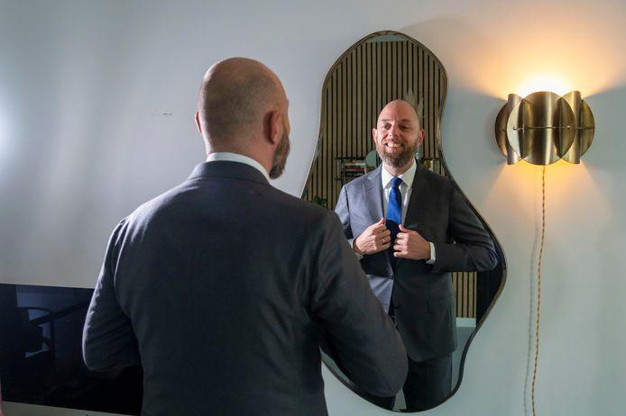 Een bijzonder moment voor Peter de Groot. De voormalig fractievoorzitter van de VVD in de Harderwijkse gemeenteraad, is dinsdag voor het eerst als Kamerlid aanwezig bij Prinsjesdag.