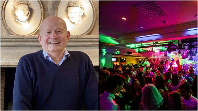 Christophe was 30 jaar buitenwipper bij discotheek Diedjies.