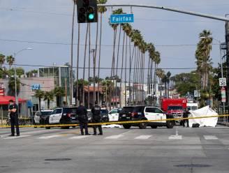 Politie in Hollywood schiet man dood na bizarre confrontatie op Sunset Boulevard