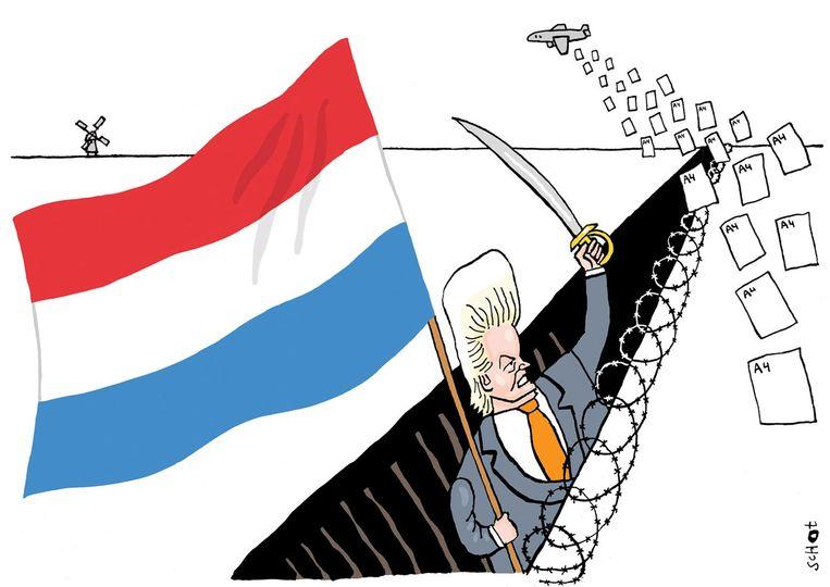 Bas van der Schot Wilders Beeld Bas van der Schot
