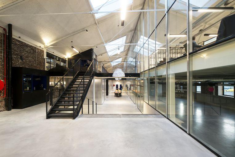 De kantoren van WATT the Firms in Gent krijgen bacteriën binnen gestoven. Beeld RV
