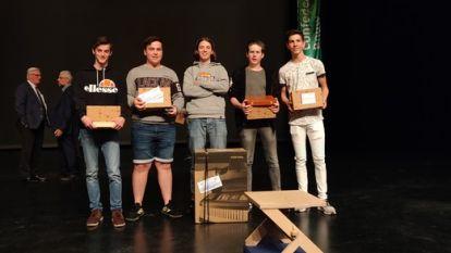 Mauritz van KTA wint West-Vlaamse houtproef