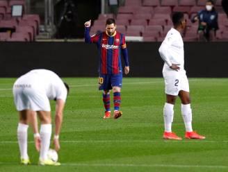 Recordman Messi effent het pad voor Barcelona tegen Huesca met prachtgoals